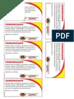Comunicado Job