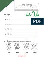 1.3 Ficha de trabalho - Grafismos e grafema u - U (1).pdf
