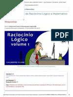 QUIZ Exercícios de Raciocínio Lógico e Matemático Volume 1 - Jogos Educativos e Passatempos - Mundo Simples