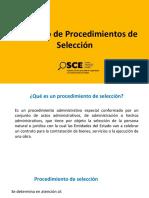 Diapositivas Procedimiento de Selección