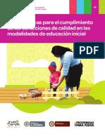 Guía No. 53 Calidad en la modalidad educación inicial