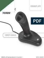EM500GPL GPS Ergo Mouse Manual 5-1411-3!5!25