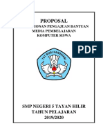 SMPN.5 TAYAN HILIR PROPOSAL PENGAJUAN PC-LAPTOP (UNBK)