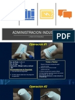 ADMINISTRACION INDUSTRIAL CLASE 4 VASOS