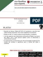A evolução do pensamento filosófico e a EF