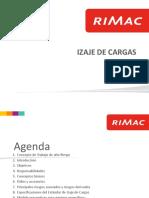 IZAJE DE CARGAS RIMACv(grua puente estacionaria tecles Tirfor)