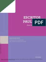 Escritos paulinos - Juan Luis Caballero
