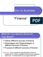 An Introduction to Business Finance