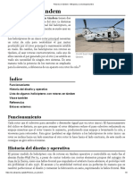 Rotores en tándem HELICOPTEROS