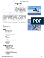 Apuntes rotor de helicóptero