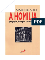 Maldonado Luis - A homilia - pregacao, liturgia, comunidade