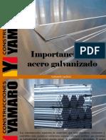 Armando Iachini - Importancia Del Acero Galvanizado