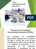 PRINCIPIOS DE CONTABILIDAD GENERALMENTE ACEPTADAS