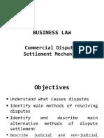 COMMERCIAL DISPUTES SETTLEMENT MECHANISM - Copy - Copy-1