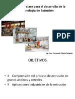 DIAPOSITIVAS PROCESAMIENTO DE PRODUCTOS ANDINOS Y EXTRUIDOS