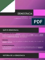 DEMOCRACIA. resumen