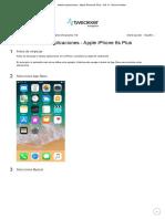 Instalar aplicaciones - Apple iPhone 6s Plus - iOS 11 - Device Guides