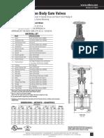 Valvula OS&Y 2-1.2 y mas (175 psi wwp)