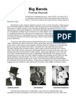 Big Bands Essay Thomas Maxwell