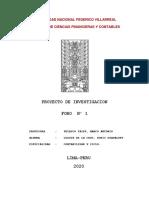 FORO 1 - PROYECTO DE INVESTIGACION.docx