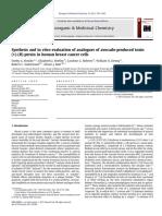 Síntesis y evaluación in vitro de análogos de la toxina (+) - ( R )