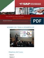 Modelo de Diapositivas EPISI