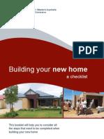 Home Building Checkl