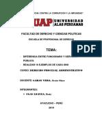 DIFERENCIA ENTRE FUNCIONARIO Y SERVIDOR