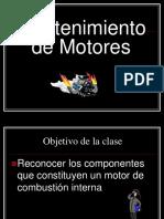 MANTENIMIENTO DE UN MOTOR