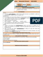 Febrero - 3er Grado Artes (2019-2020)