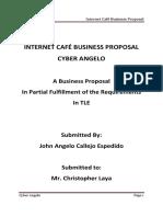 INTERNET CAFÉ BUSINESS PROPOSAL