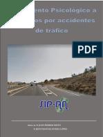 TRATAMIENTO PSICOLOGICO A AFECTADOS POR ACCIDENTES DE TRÁFICO