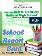 SRC - 321121 CATALINO D CEREZO NHS - END OF SY