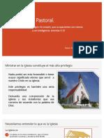 El Liderazgo Pastoral