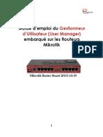 Guide Utilisateur Routeur Mikrotik