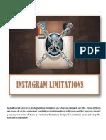 Instagram-Limitation-Guide