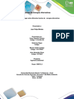 Actividad 2– Indagar sobre diferentes fuentes de   energías alternativas Grupo_6
