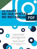 Ideias de Postagem Instagram