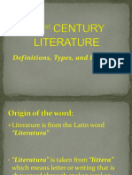 21st-CENTURY-LITERATURE-defined-types-divisions