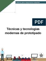 tecnicas y tegnologias modernas de prototipado