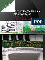 pelayanan kesehatan sesuai klasifikasi rumah sakit RIAU
