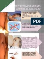 Educacion y Recomendaciones Durante El Embarazo Listo 9999999999999999