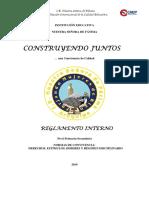 Reglamento de Primaria y Secundaria 2019
