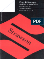 Peter F Strawson Analisis y metafisica.pdf
