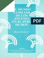 EL MUNDO FAMILIAR DE LOS JOVENES EN EL PERU DE HOY