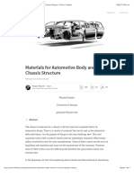 Materials for Automotive Body and Chassis Structure  Pooyan Nayyeri  Pulse  LinkedIn