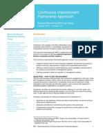 BSR_Continuous Improvement Partnership Approach_Final