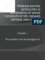 Problem solving difficulties in mathematics of grade 07 students of sto. Rosario national high school.pptx