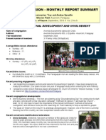 Mission Report Sept 2010