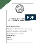 SEMINARIO DE INVESTIGACIÓN_LOS TERRITORIOS INDÍGENAS. EL CASO AYMARA, SIGLOS XV-XVIII. PROBLEMAS, ABORDAJES, METODOLOGÍAS_JURADO